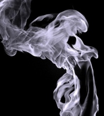 Как снимать дым