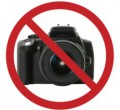 Где запрещена фотосъемка?