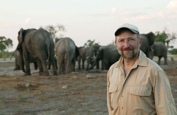Steve Bloom in Botswana.
